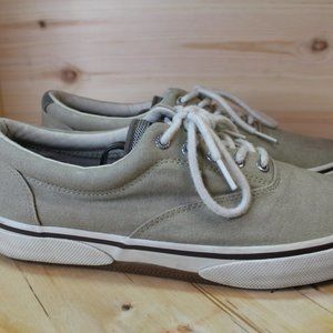 Sperry Top Sider Canvas Sneakers Shoes Size 10.5M